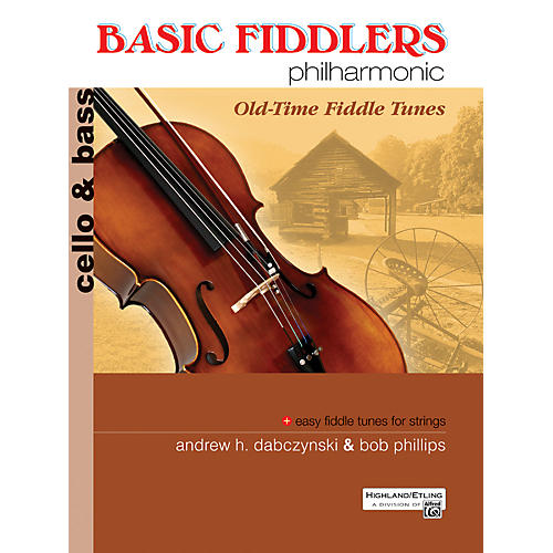 Alfred Basic Fiddlers Philharmonic Old-Time Fiddle Tunes Cello/Bass Book