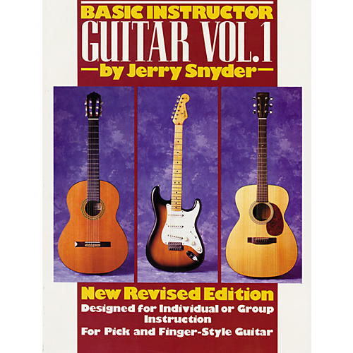 Alfred Basic Instructor Guitar, Volume 1