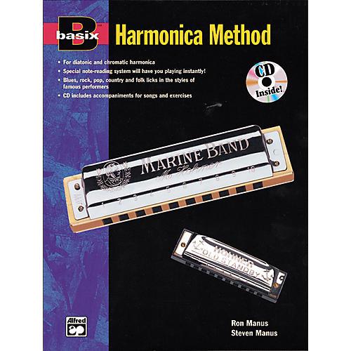 Alfred Basix Harmonica Method Book w/CD