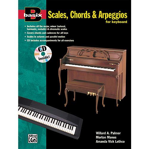 Alfred Basix Scales Chords & Arpeggios for Keyboard (Book/CD)