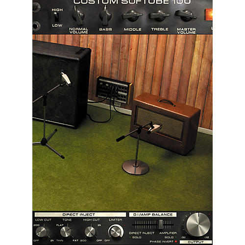 softube bass amp room native vst au rtas plug in digital download digital download guitar. Black Bedroom Furniture Sets. Home Design Ideas