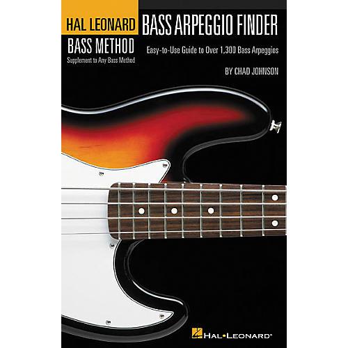 Hal Leonard Bass Arpeggio Finder Book