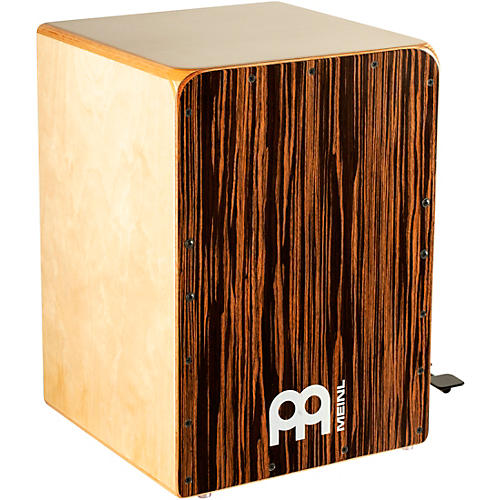 Meinl Bass Cajon with Snare Pedal and Ebony Frontplate