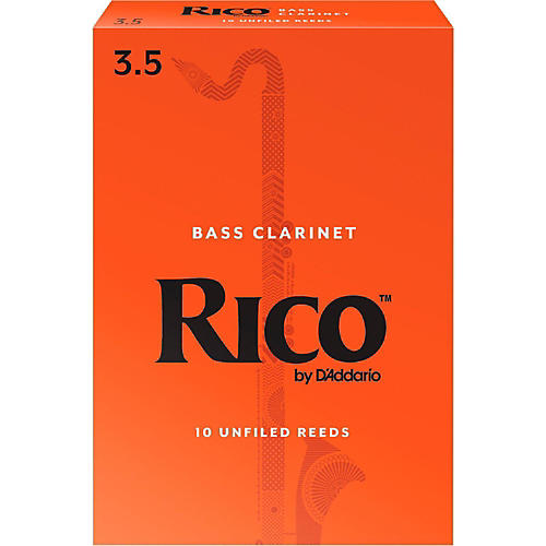 Rico Bass Clarinet Reeds, Box of 10
