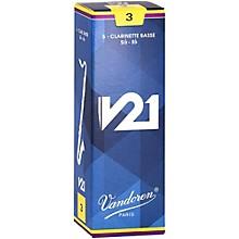 Vandoren Bass Clarinet V21 Reeds Box of 5