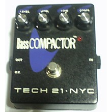 Tech 21 Bass Compactor Bass Effect Pedal