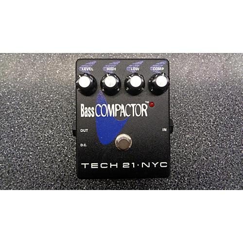 Tech 21 Bass Compactor Effect Pedal
