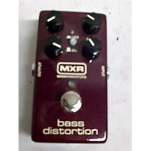 MXR Bass Distortion Bass Effect Pedal