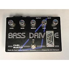Carl Martin Bass Drive Tube Pre Amp Bass Effect Pedal