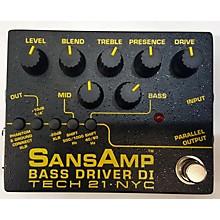 Tech 21 Bass Driver Di Bass Effect Pedal