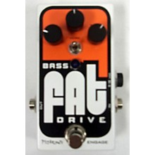 Pigtronix Bass Fat Drive Bass Effect Pedal