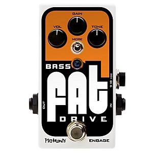 PiGuitaronix Bass Fat Drive Effects Pedal by Pigtronix