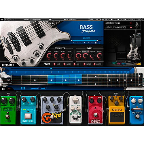 Waves Bass Fingers Plug-in