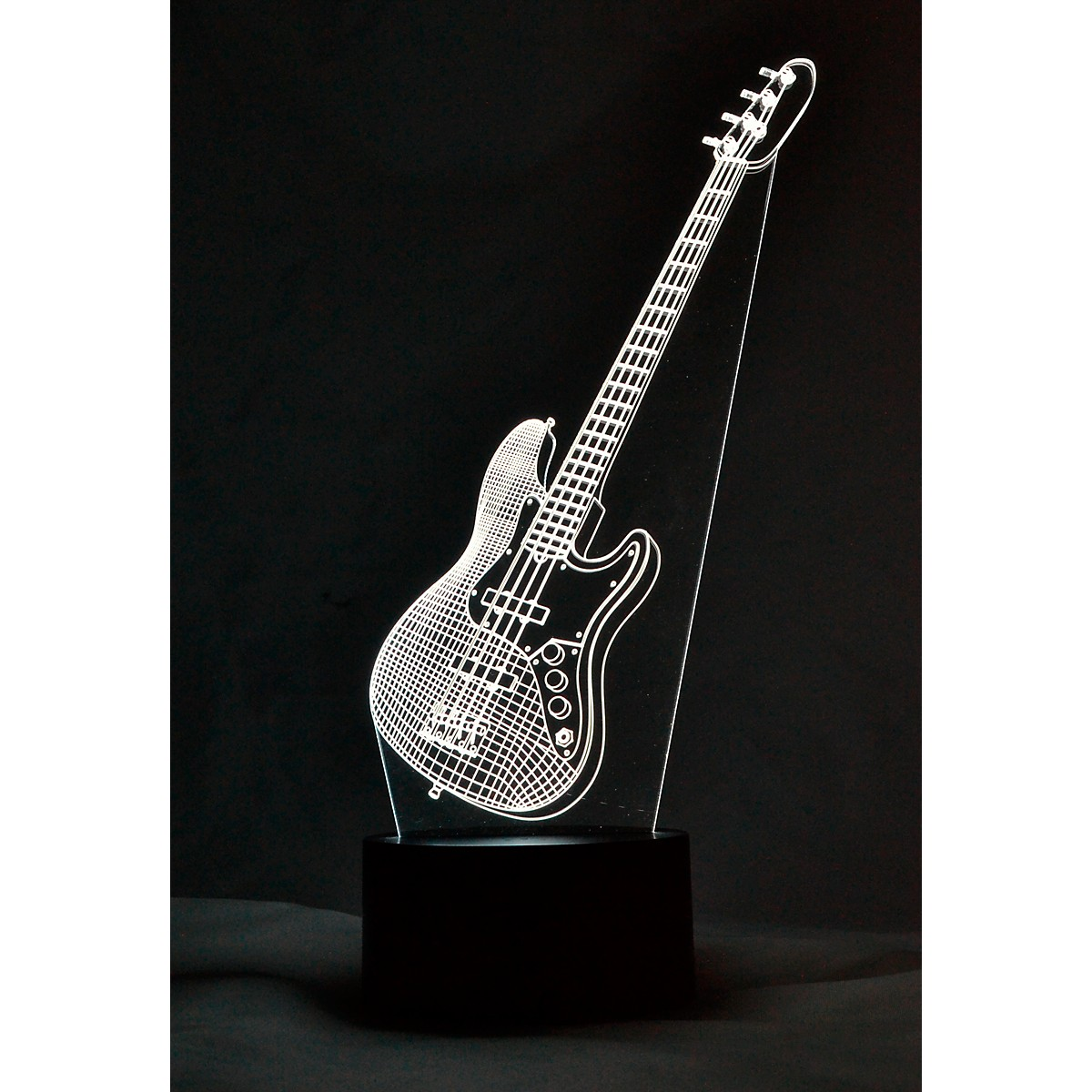 AIM Bass Guitar 3D LED Lamp Optical Illusion Light