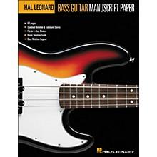 Hal Leonard Bass Guitar Manuscript Paper (8.5 X11 )
