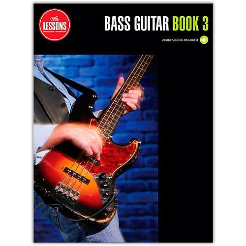 Guitar Center Bass Guitar Method Book 3 - Guitar Center Lessons (Book/Audio)