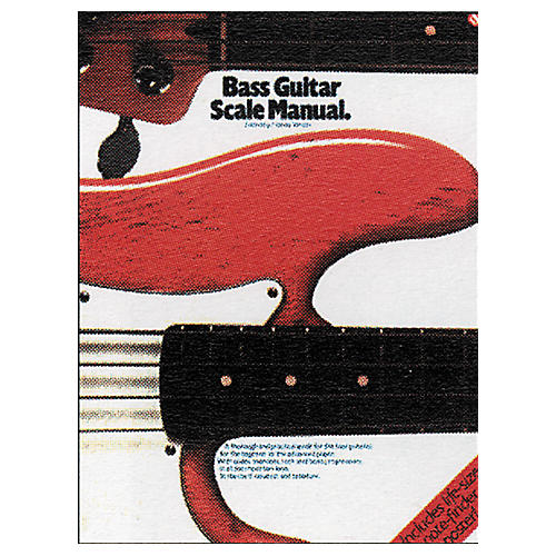 Music Sales Bass Guitar Scale Manual Book