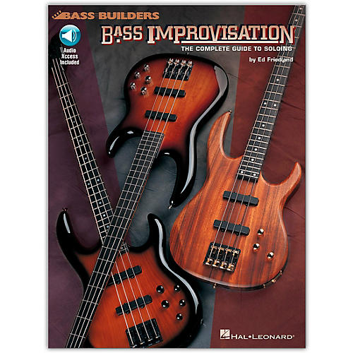 Hal Leonard Bass Improvisation (Book/Online Audio)