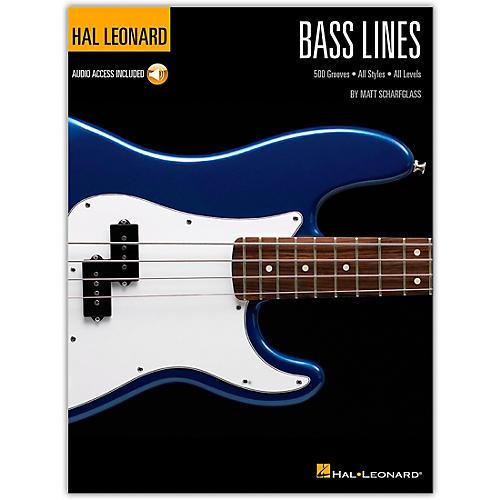 Hal Leonard Bass Lines - Hal Leonard Bass Method Book/Audio Online