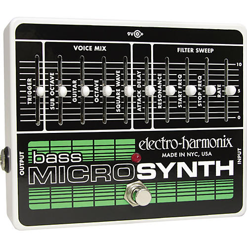 Electro-Harmonix Bass Microsynth Pedal