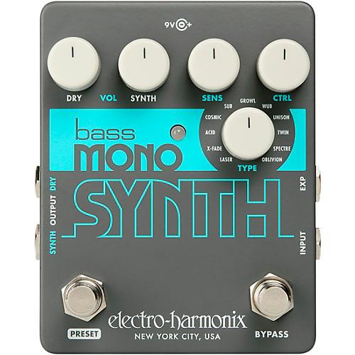 Electro-Harmonix Bass Mono Synth Bass Effects Pedal