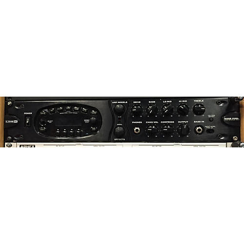 Line 6 Bass Pod XT Pro Black Effect Processor