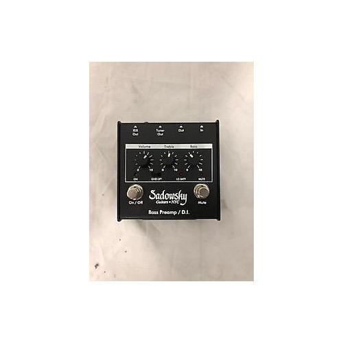 Sadowsky Guitars Bass Preamp / DI Bass Effect Pedal