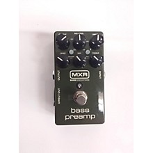 MXR Bass Preamp Bass Effect Pedal