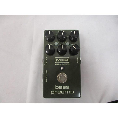 used mxr bass preamp bass effect pedal guitar center. Black Bedroom Furniture Sets. Home Design Ideas