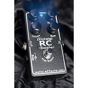 xotic bass rc booster bass effects pedal guitar center. Black Bedroom Furniture Sets. Home Design Ideas
