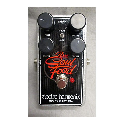Electro-Harmonix Bass Soul Food Overdrive Effect Pedal