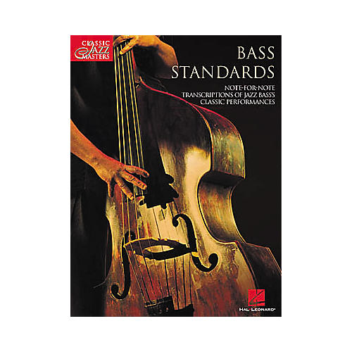 Hal Leonard Bass Standards Book