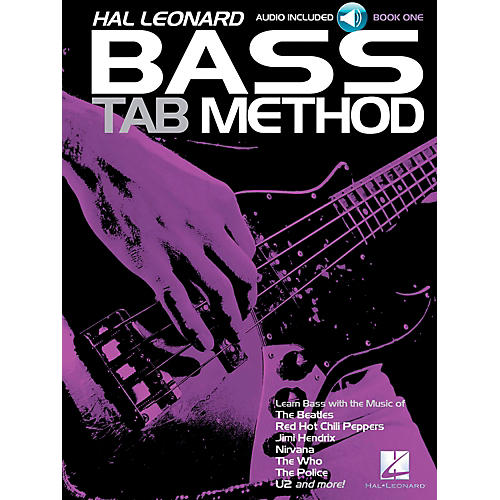 Hal Leonard Bass Tab Method Book 1 Book/CD