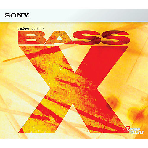 Sony Bass X ACID Loop CD