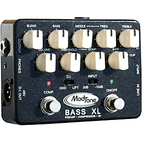 modtone bass xl preamp and compressor effects pedal guitar center. Black Bedroom Furniture Sets. Home Design Ideas