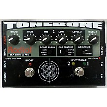 Radial Engineering Bassbone Bass Pre DI Bass Effect Pedal