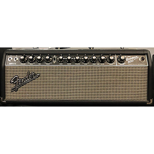 used fender bassman 500 bass amp head guitar center. Black Bedroom Furniture Sets. Home Design Ideas