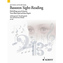 Schott Bassoon Sight-Reading (A Fresh Approach) Woodwind Series Softcover Written by John Kember
