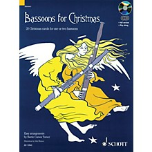 Schott Bassoons for Christmas Misc Series Softcover with CD
