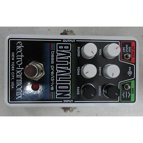 Electro-Harmonix Battalion Bass Pre\Drive Effect Pedal