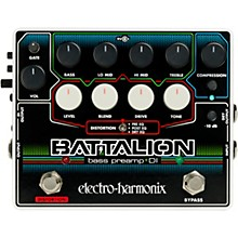 Electro-Harmonix Battalion Bass Preamp and DI Pedal