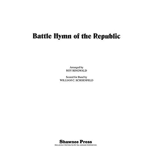 Hal Leonard Battle Hymn of the Republic Score & Parts Arranged by Roy Ringwald
