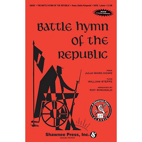Shawnee Press Battle Hymn of the Republic TTBB Arranged by Roy Ringwald