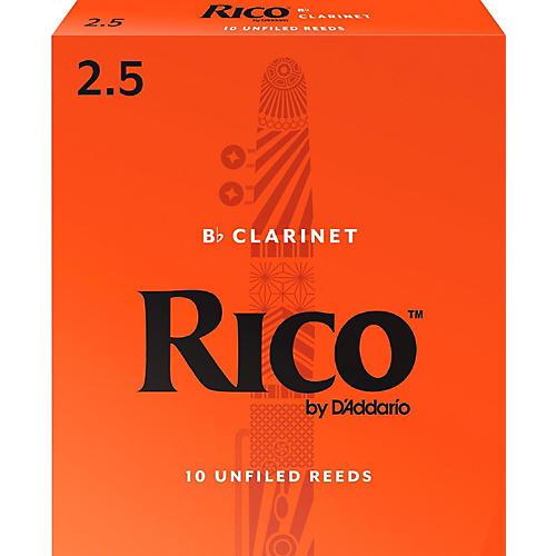 Rico Bb Clarinet Reeds, Box of 10