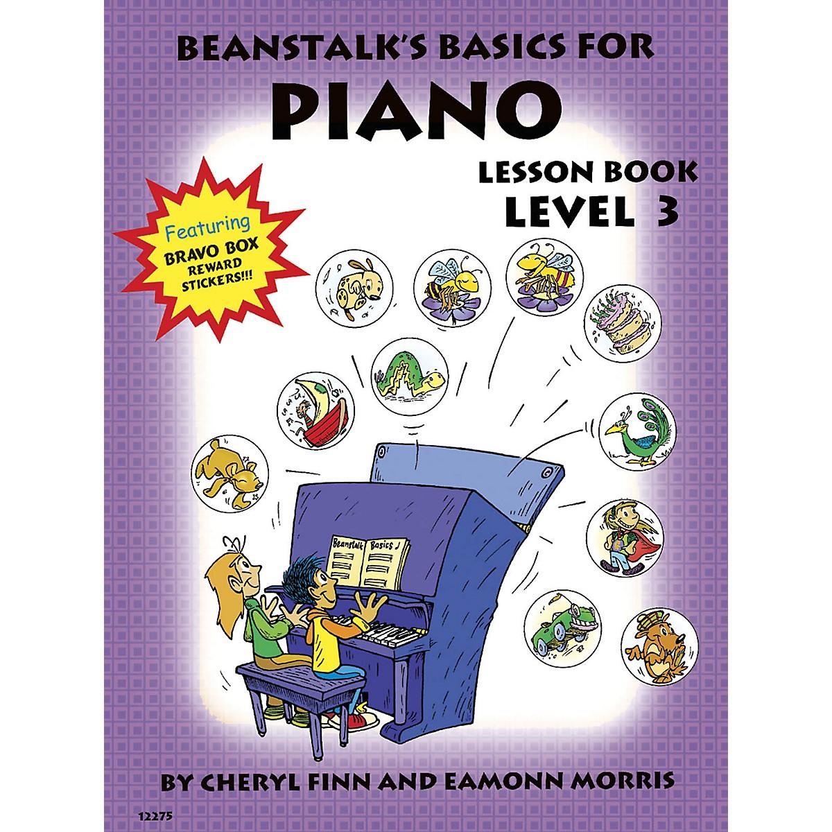 Willis Music Beanstalk's Basics for Piano (Lesson Book Book 3) Willis Series Written by Cheryl Finn