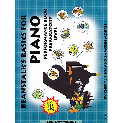 Willis Music Beanstalk's Basics for Piano (Performance Book Preparatory Book) Willis Series Written by Cheryl Finn