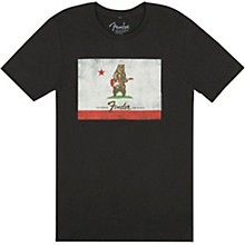 Fender Bear Flag T-Shirt - Black