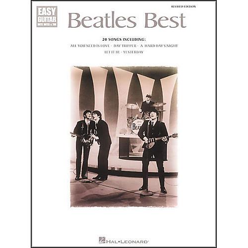 Hal Leonard Beatles Best Easy Guitar Tab Book