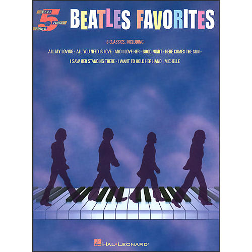 Hal Leonard Beatles Favorites for Five Finger Piano
