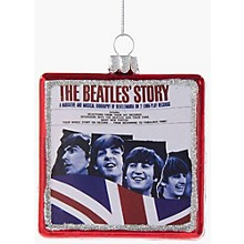 "Kurt S. Adler Beatles Glass ""The Beatles' Story"" Album Ornament"
